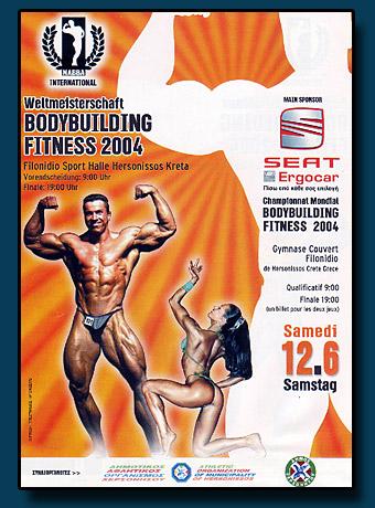 NAC Weltmeisterschaft 2004 Poster in Griechenland