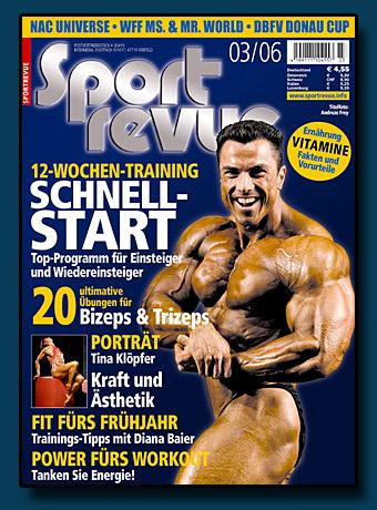 Sportrevue Cover 03.2006