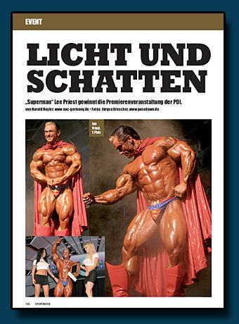 Sportrevue Bericht - Mr. Universe 2005
