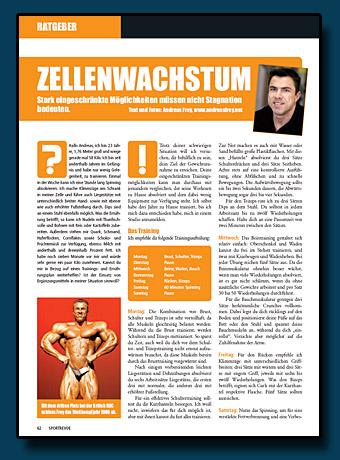 Sportrevue Kolumne 01.2007 - Zellenwachstum