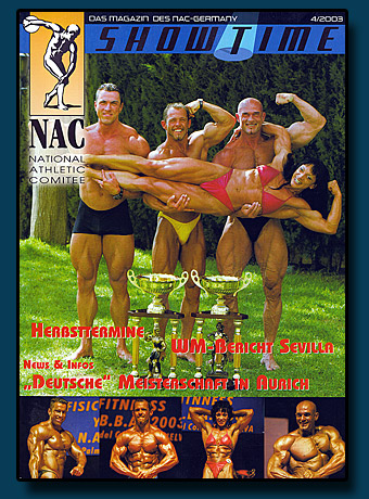 Shwotime 2003 Cover