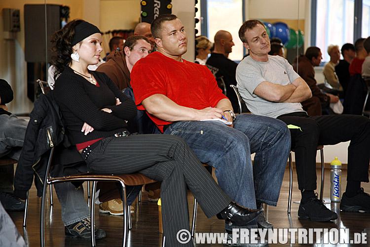 seminar bei carsten werner im jump fitness und wellness studio 2008