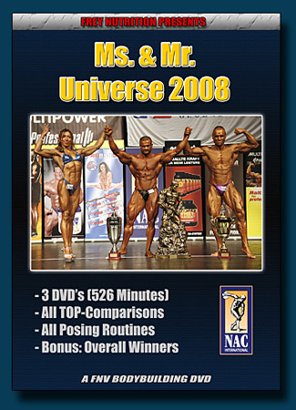 Ms. & Mr. Universe 2008 - DVD