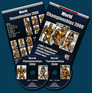 World Championships 2008 - DVD